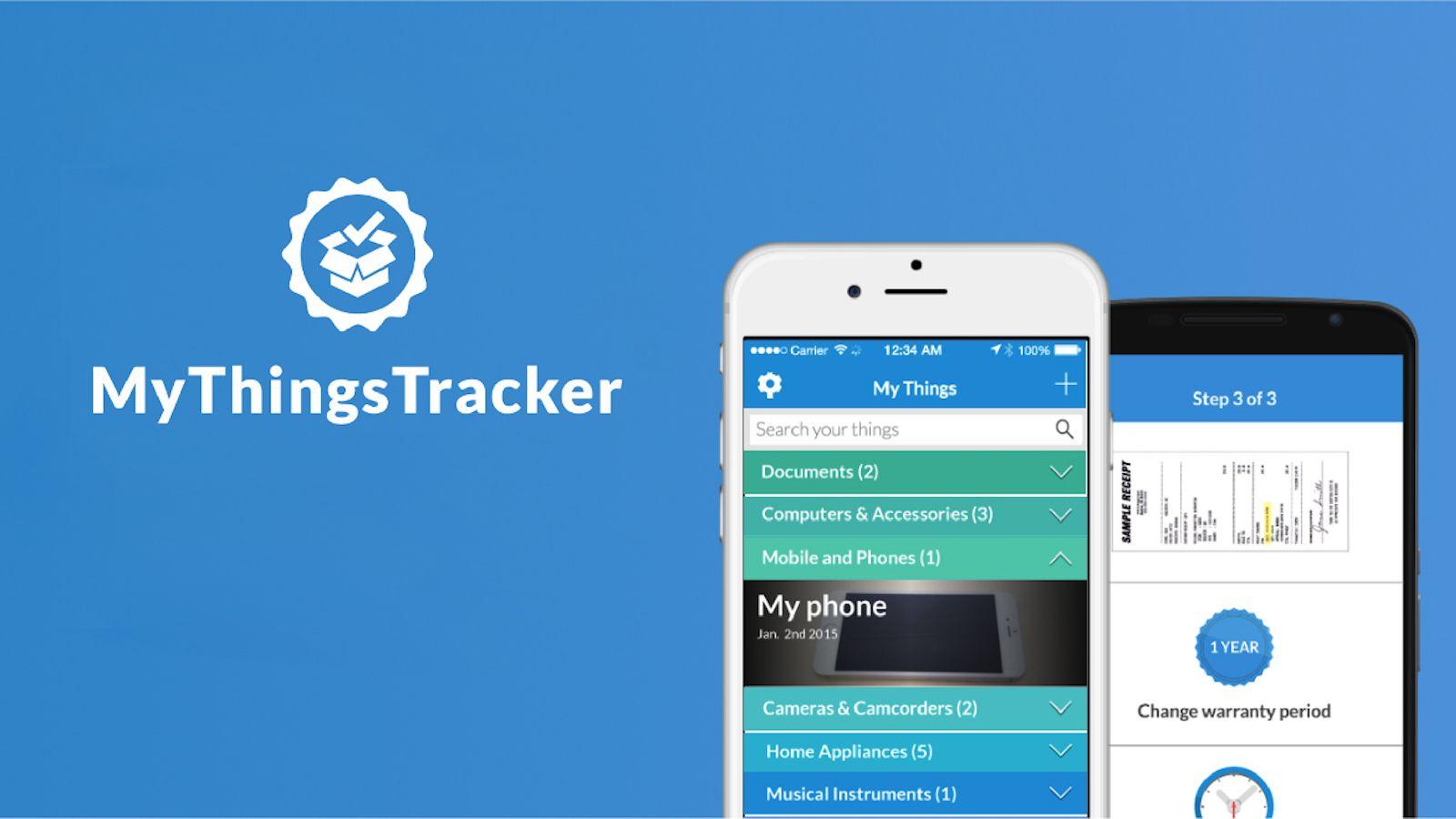 MyThingsTracker App