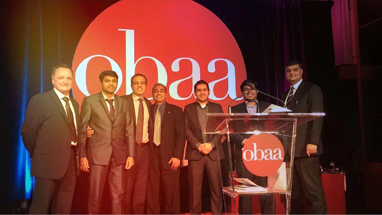 OBAA mobileLIVE Award