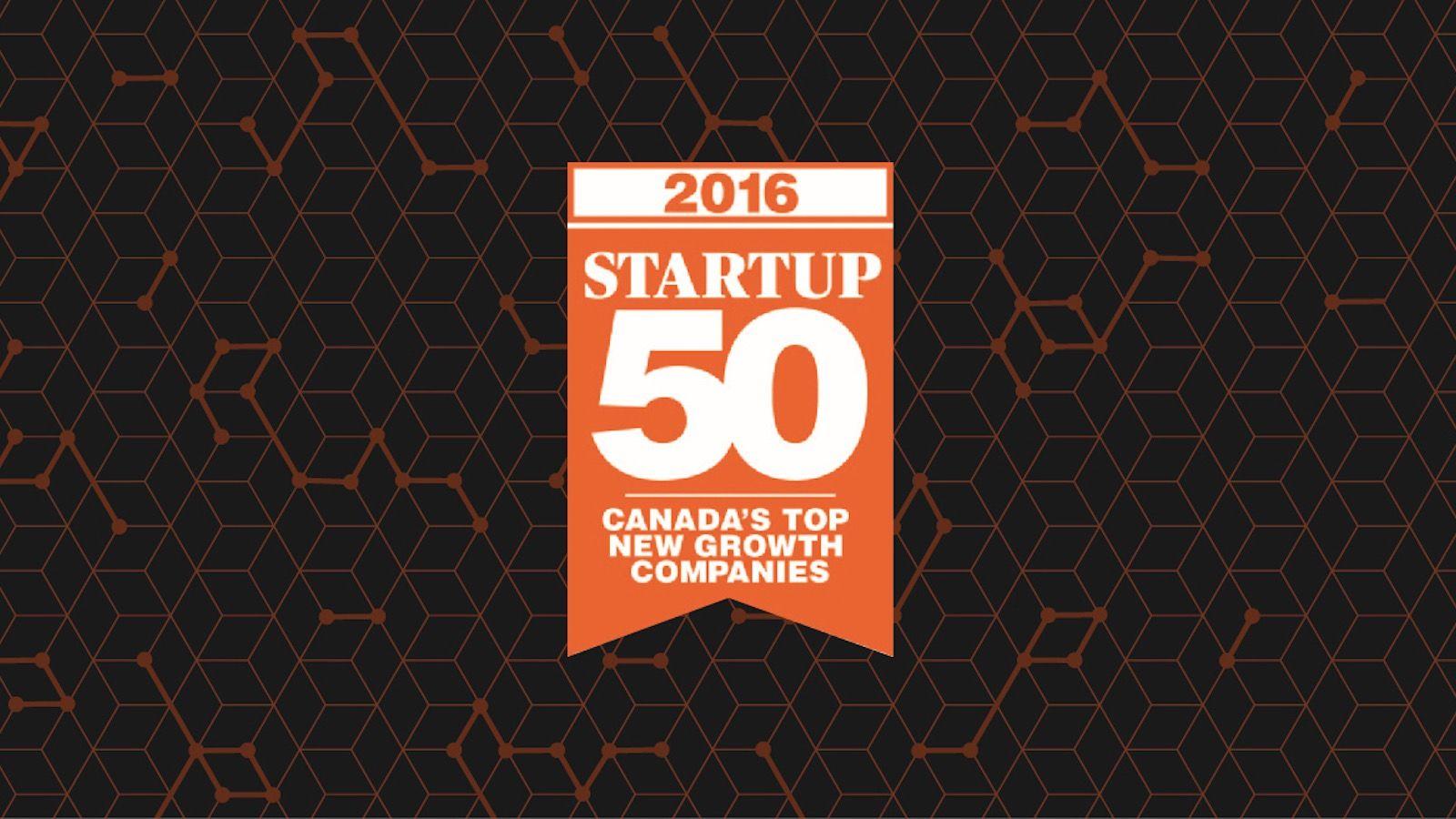 Startup 50 award mobileLIVE