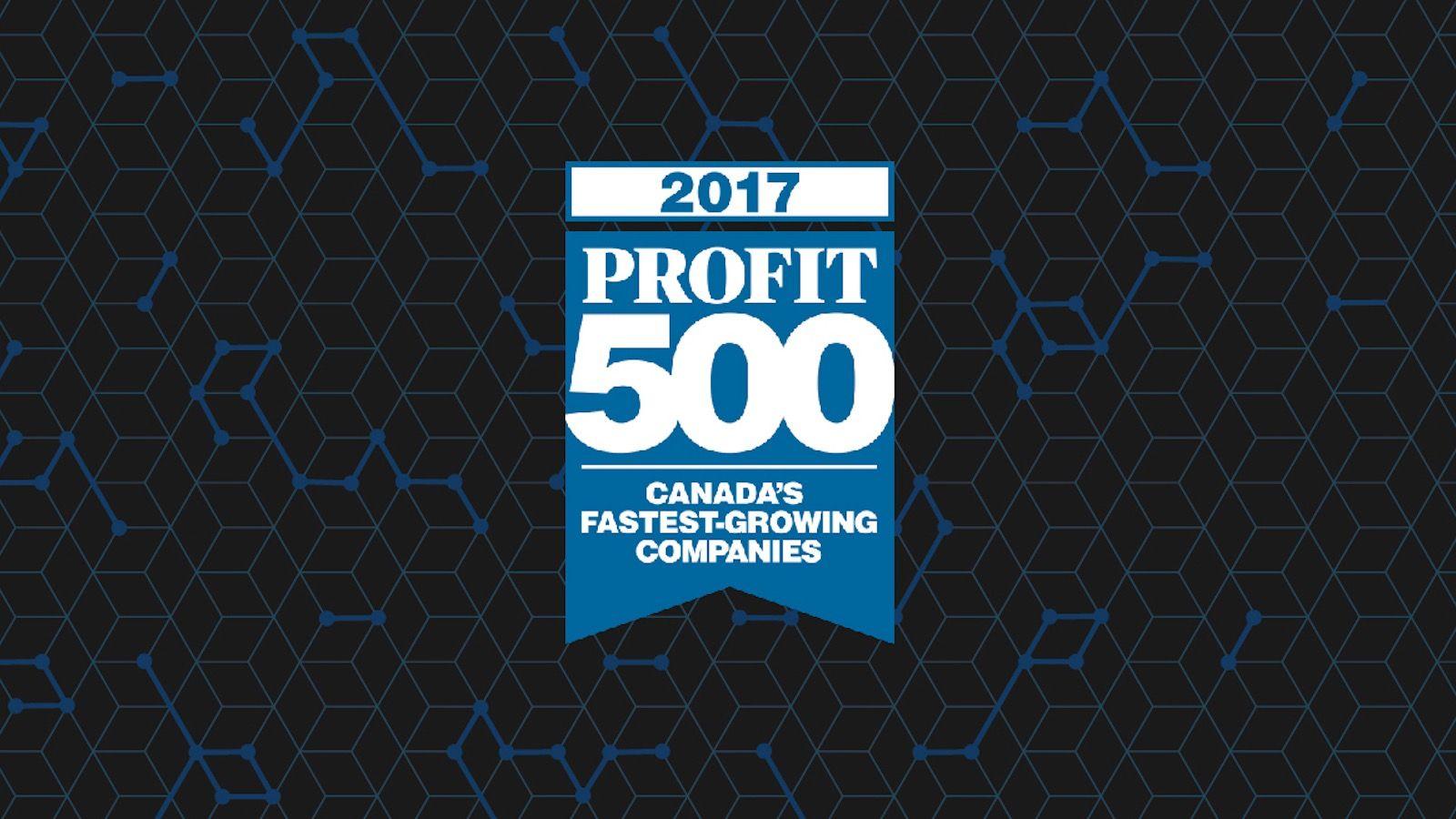 mobileLIVE PROFIT 500 award