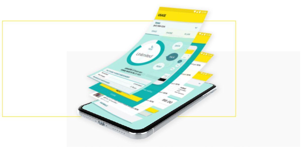 unique gesture experience mobile app